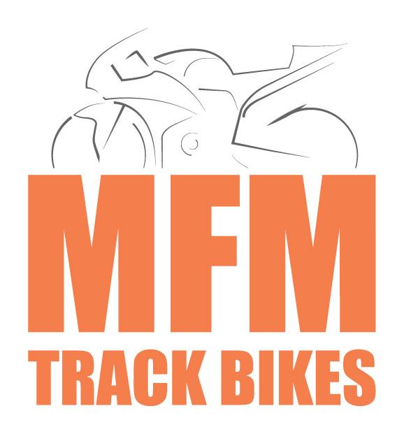 MFM Track Bikes Stacked Logo